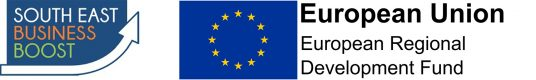 South East Business Boost is support by the European Development Fund